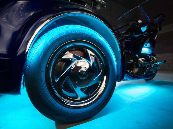 2pc LiteTrike Million Color LED Wheel Well Lighting Kit