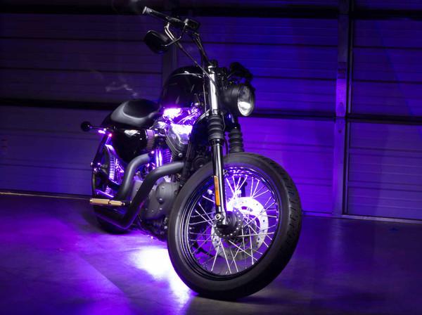 Advanced Purple SMD Motorcycle Lighting Kit