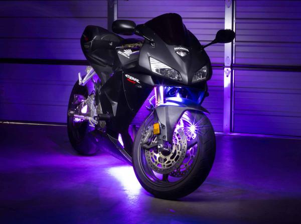 Advanced Purple Motorcycle LED Lights