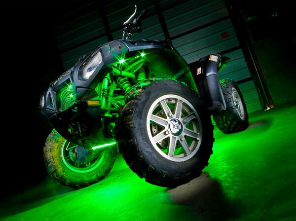 Advanced Million Color ATV Lights