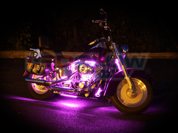 Classic Pink Motorcycle Lighting Kit