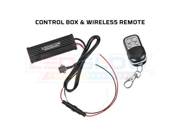 Classic Motorcycle Control Box & Wireless Remote
