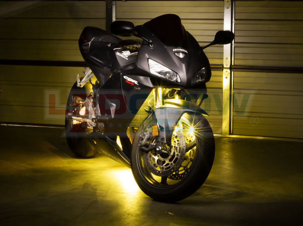 Advanced Yellow Motorcycle Lighting