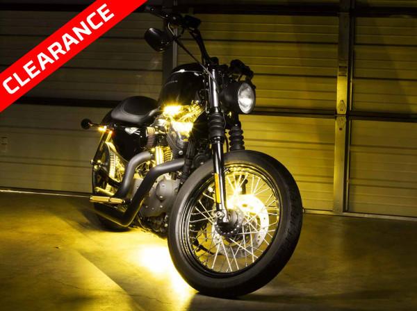 Advanced Yellow SMD Motorcycle Lighting Kit