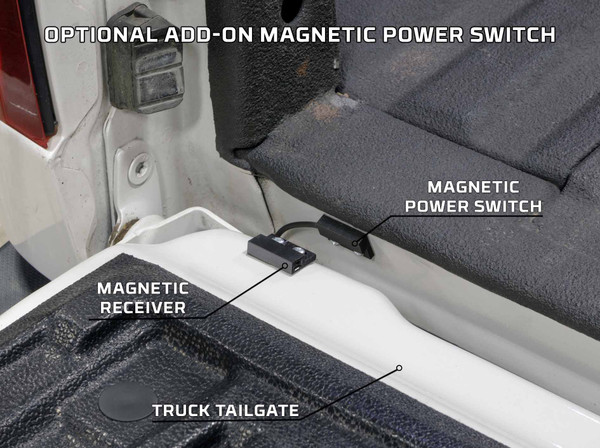 Optional Add-On Magnetic Switch