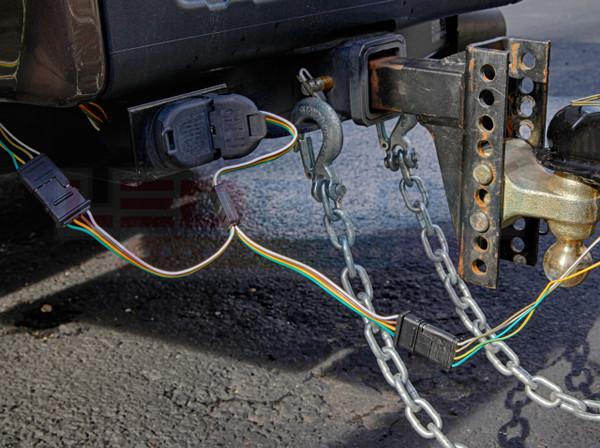 Y-Splitter Harness Installed