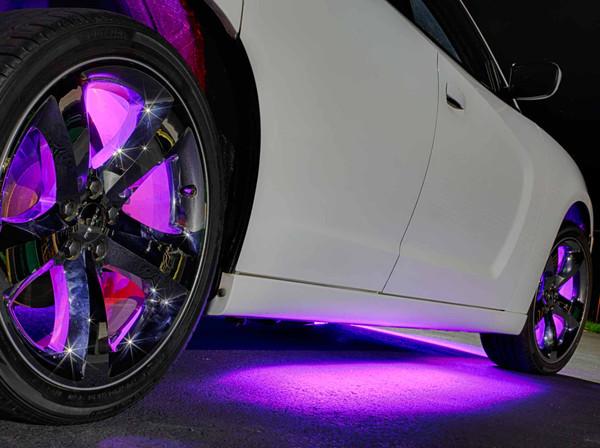 Purple Wireless SMD Underbody Lights