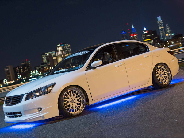 Blue Slimline LED Underbody Lights
