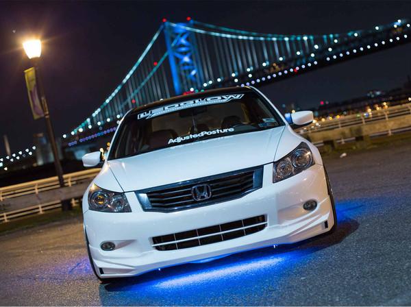 Blue Slimline LED Underglow Lighting Kit