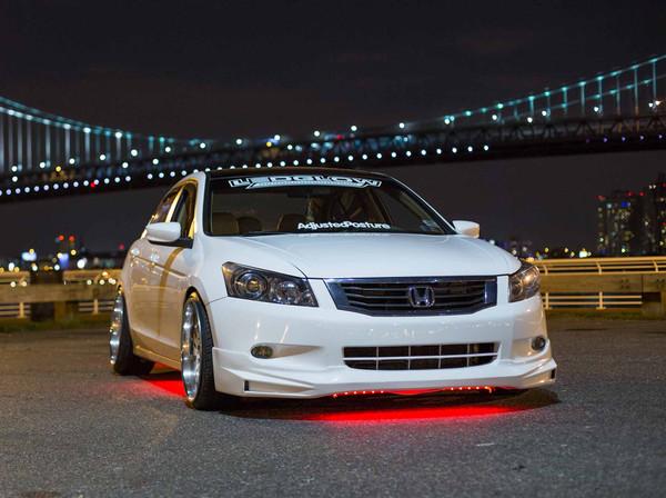 Red Slimline LED Underbody Lights