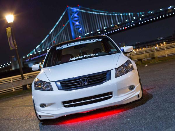 Red Slimline LED Underglow Lighting Kit