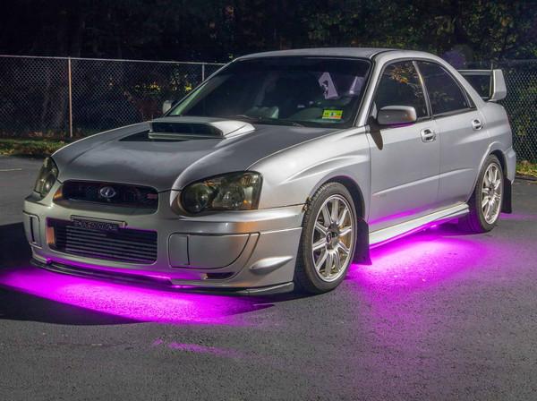Pink Slimline Underbody Lighting