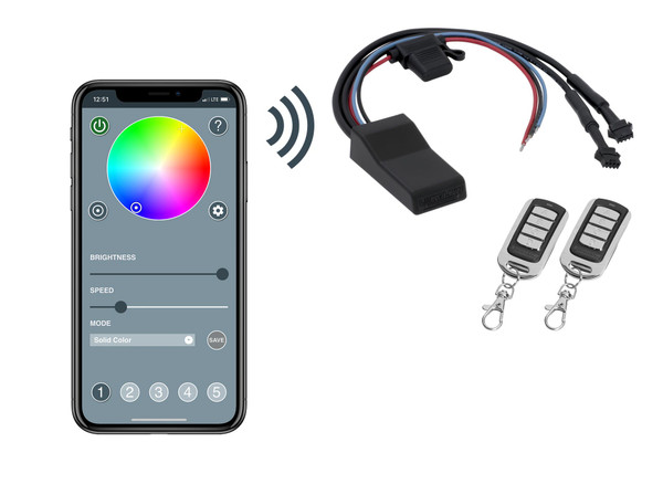 Advanced Million Color Control Box with Smartphone Control Upgrade