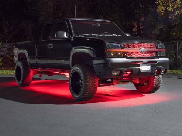 Red SMD LED Slimline Truck Underbody Lighting Kit