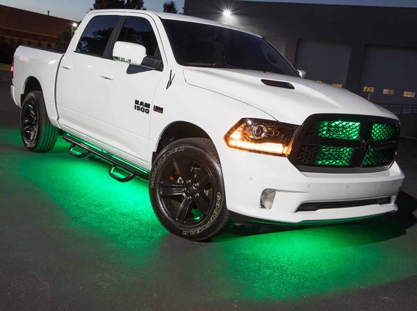 Green SMD LED Slimline Truck Underbody Lighting Kit