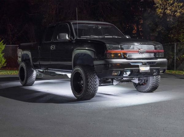 White SMD LED Slimline Truck Underbody Lighting Kit