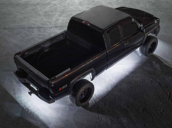 LEDGlow White SMD LED Slimline Underbody Kit for Trucks