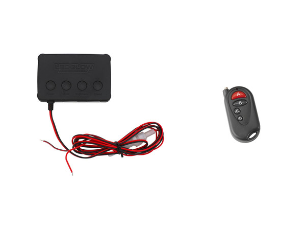 Replacement Single Color SMD Interior Control Box & Wireless Remote