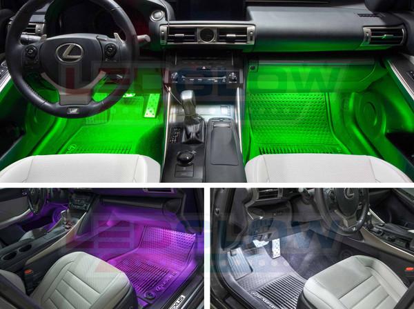 Expandable 7 Color Interior Light Kit