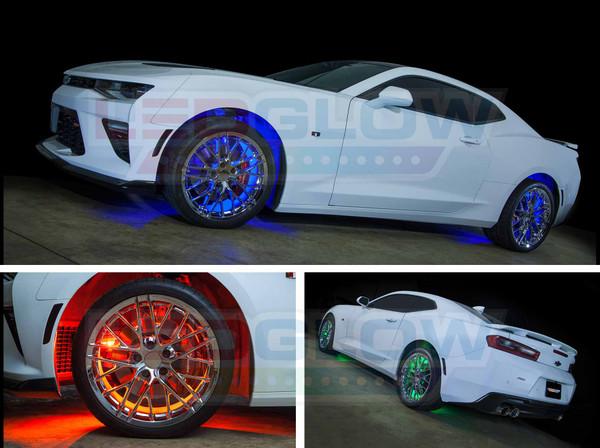 Multi-Color Wheel Well Lights
