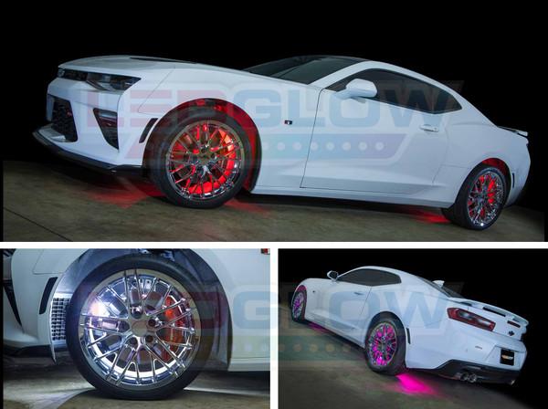 Million Color Flexible Wheel Well Lighting Kit