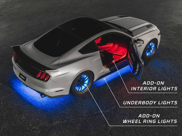 Bluetooth Million Color SMD LED Underglow Light Kit Add-On Options