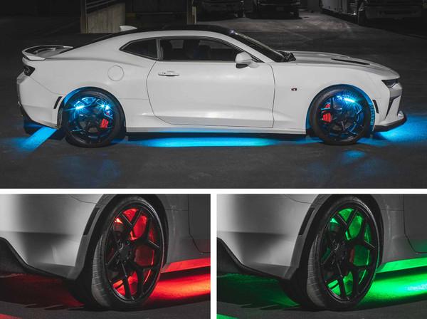 Advanced 3 Million Add-On Wheel Well LED Lights