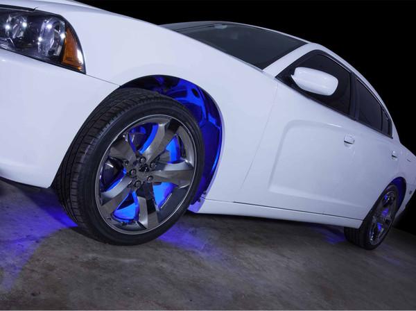 Flexible Blue Wheel Well LED Lighting Kit