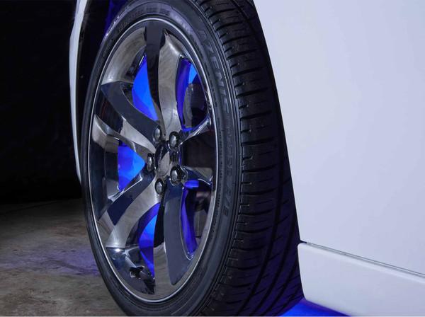 LEDGlow Blue LED Flexible Wheel Well Lights