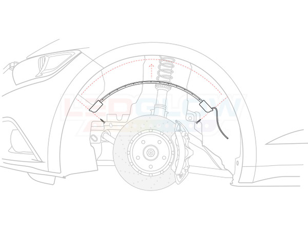 Wheel Well Tube Placement