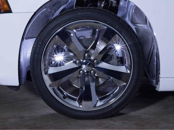 White Flexible SMD LED Wheel Well Lights