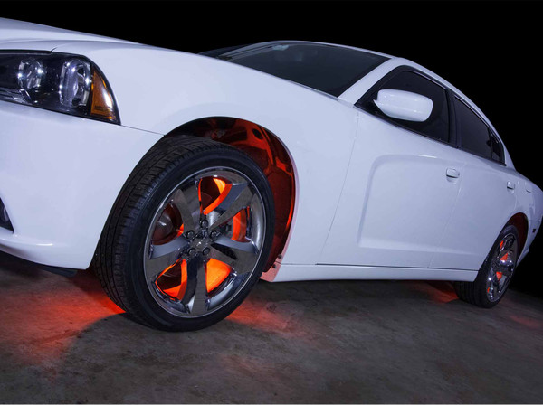 Orange SMD LED Wheel Well LED Lights