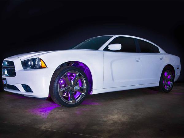 Purple Flexible SMD LED Wheel Well Lights