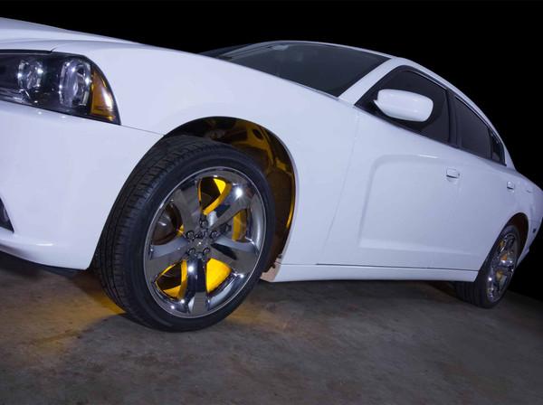 Yellow Wheel Well Lighting Kit