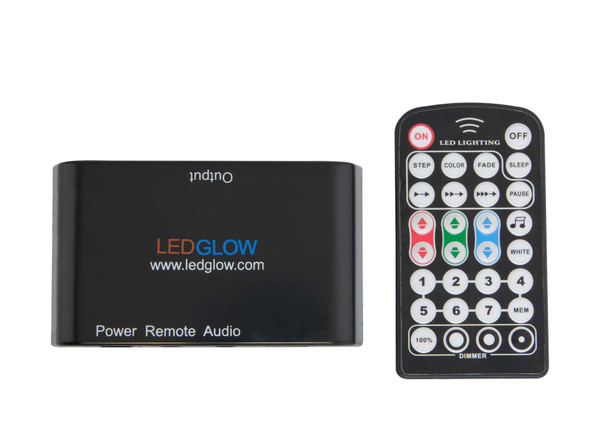 Replacement Commercial Accent Lighting Control Box and Wireless Remote