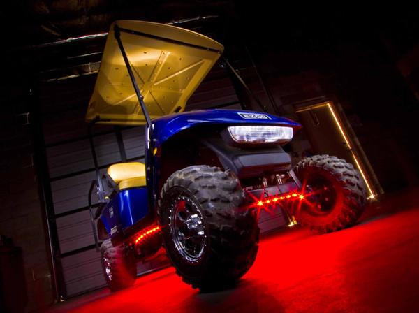 Red Golf Cart Lights