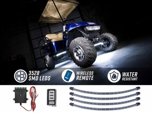 White LED Golf Cart Underbody Lights