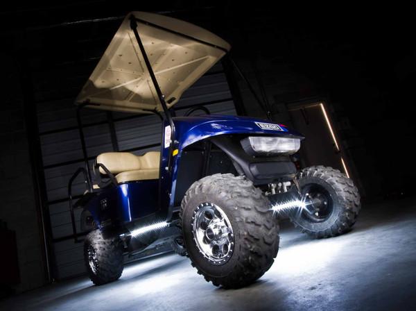 White LED Golf Cart Lights