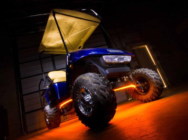 Orange Golf Cart Lights