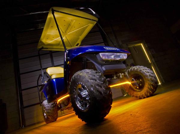 Yellow Golf Cart Lighting Kit