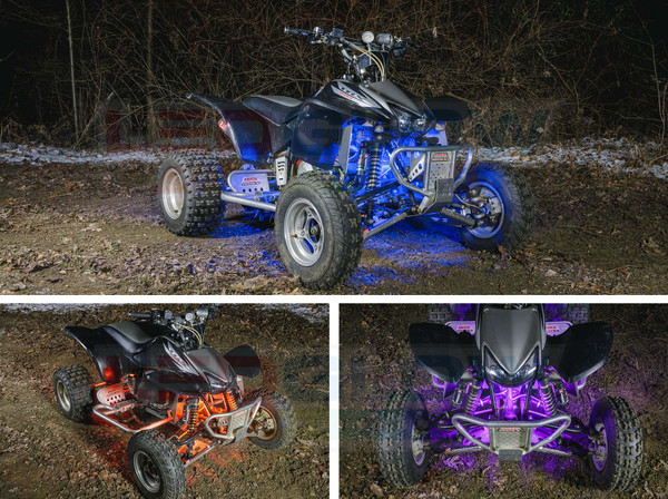 Million Color LED ATV Lights