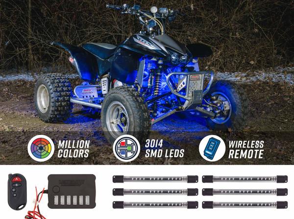 Million Color LED ATV Underbody Light Kit