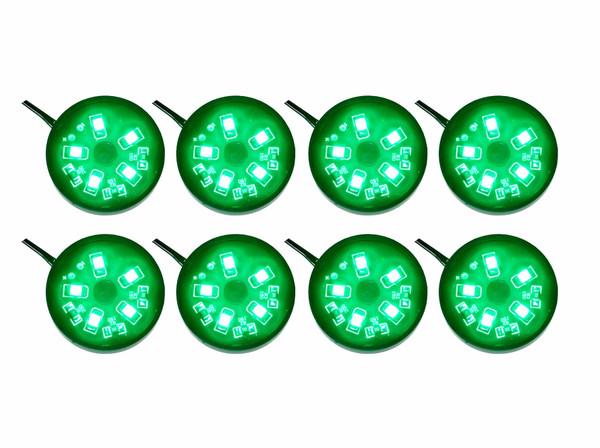8pc Green Pod Lighting Kit