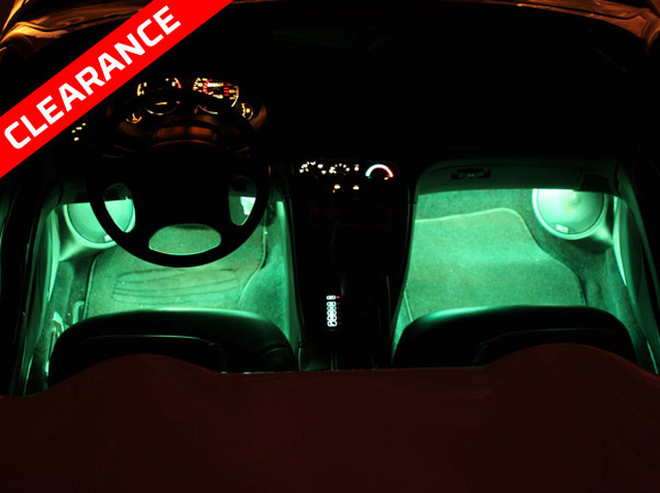Expandable Green LED Interior Lights