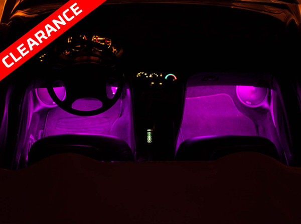 Expandable Pink Interior LED Lights