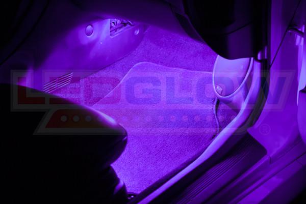2pc Expandable Purple Interior Lights