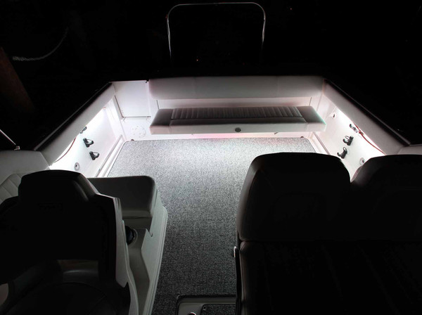 White Marine Boat LED Lighting Kit