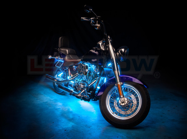 Advanced Ice Blue SMD Motorcycle Lights