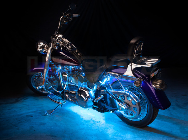 Advanced Ice Blue Motorcycle Lighting Kit