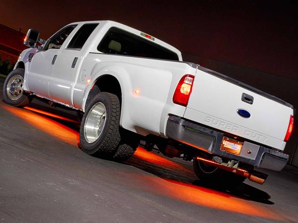 6pc Orange SMD LED Truck Underbody Lighting